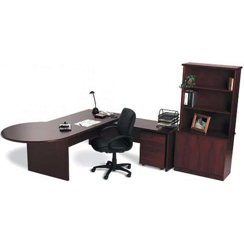 Timber Office Furniture ~ Timber office desk