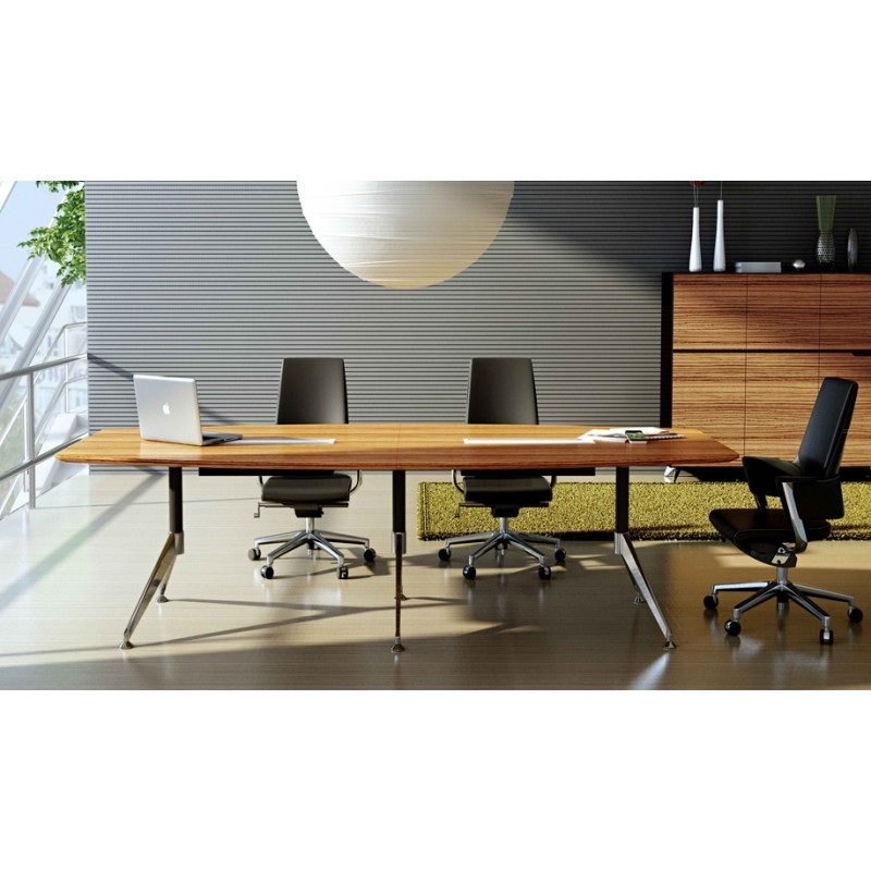 Timber Office Furniture ~ Urban timber veneer board table adept office furniture