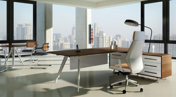 Add Class to Your Office with an L-shaped Office Desk